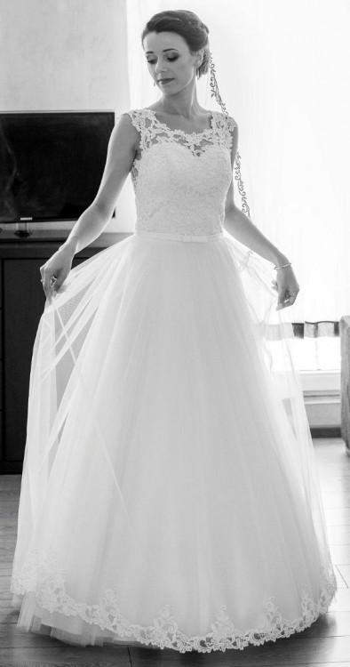 Suknie Sprzedam Suknię ślubną Delfina Roz 3436 1 69000zł