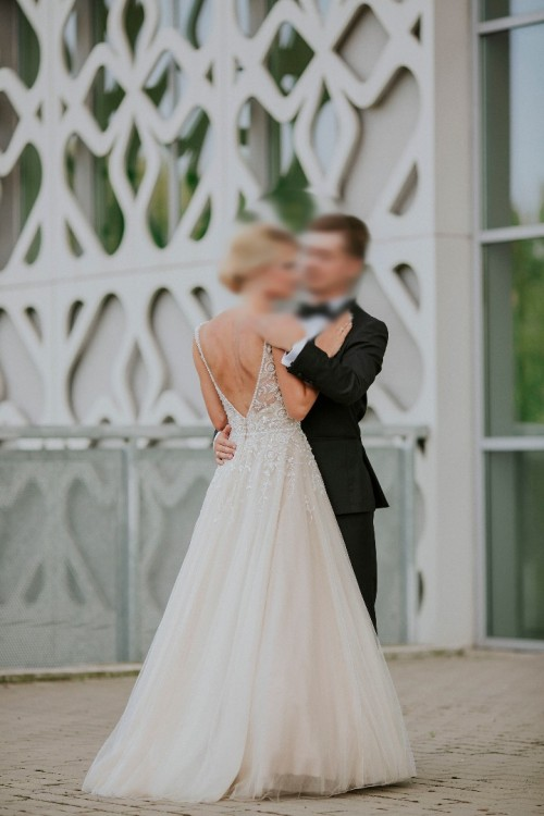 Suknia ślubna Justin Alexander Signature 9795 NUDE