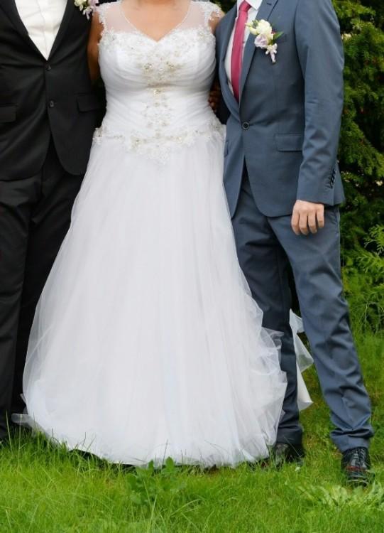 de1f92c3f3 Suknie - Śliczna suknia ślubna rozm. 48-52 - 1 300