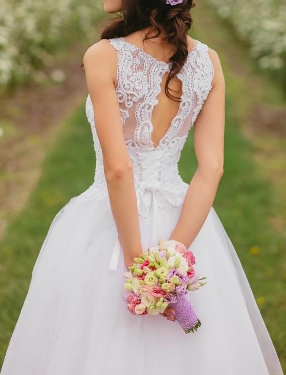 Suknie Suknia ślubna Biała 34 36 Koronka 1 30000zł