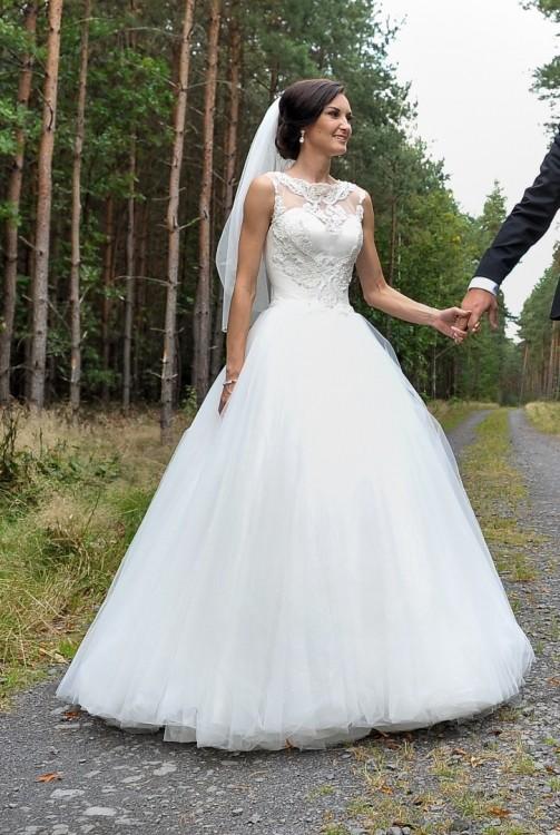 Suknie Suknia ślubna Princessa Maxima Rozm 3234 Xxsxs 2 00000zł