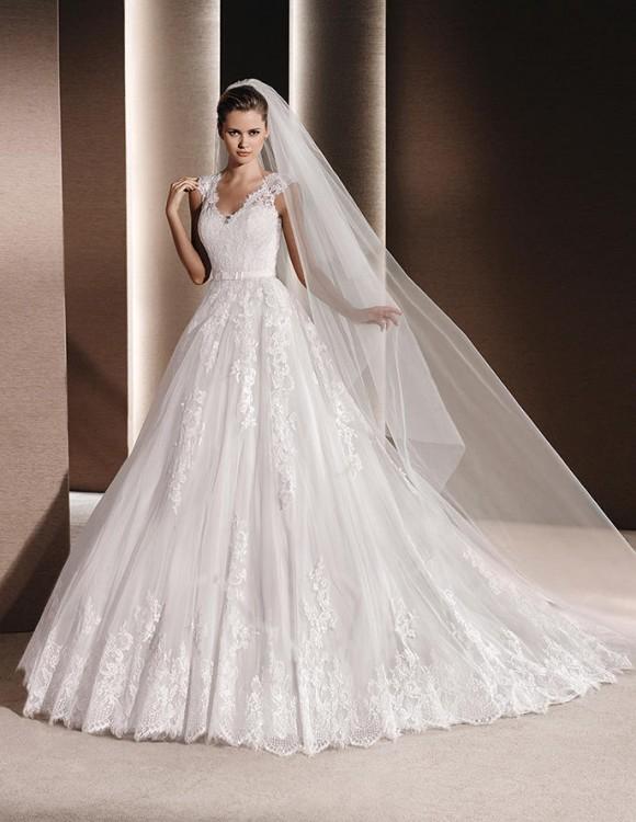 Suknie Hiszpańska Suknia ślubna Marki La Sposa Model Raven 3