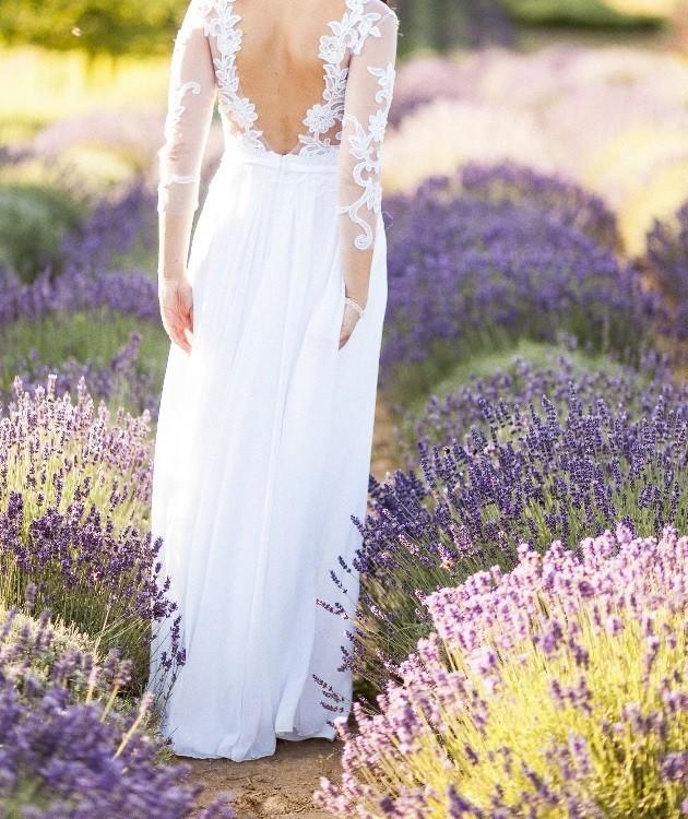 Suknie Suknia ślubna Odkryte Plecy Zwiewna Zwiewna 1 79900zł