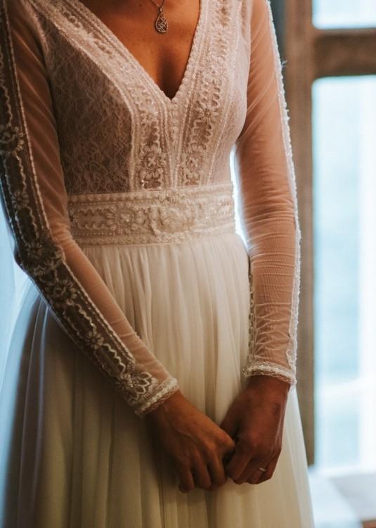 17aa4392 Suknie - Suknia ślubna Diana model Gaja r. 34 xs - 2 000,00zł
