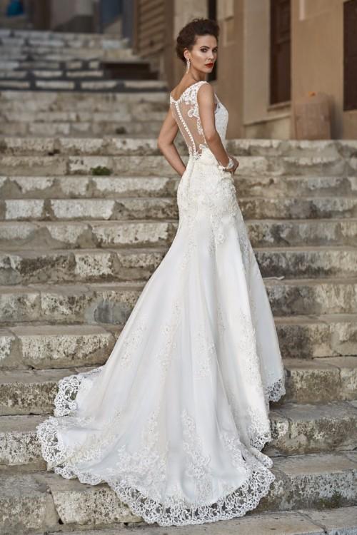 c12681c263 Suknie - Przepiękna suknia ślubna Valencia - 1 700