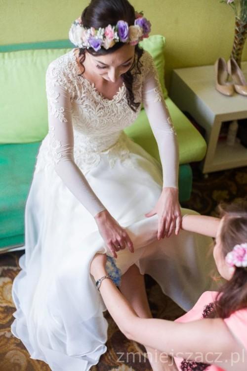 Suknie Suknia ślubna W Stylu Rustykalnym 1 00000zł