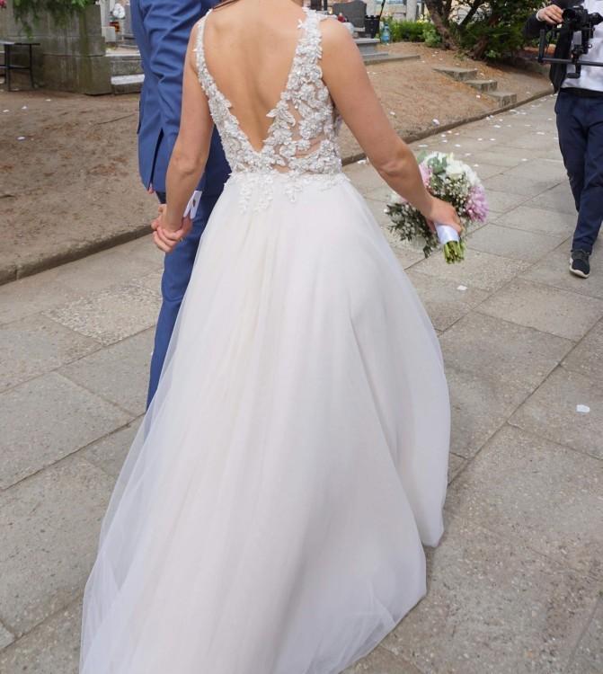 Suknie Suknia ślubna Tom Sebastien 3 00000zł