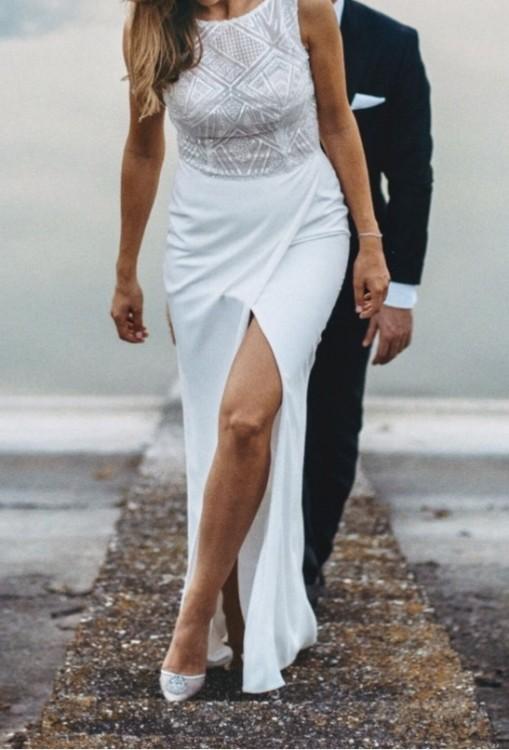 Suknie Oryginalna Suknia ślubna Gianni Violi Piekut 2 50000zł