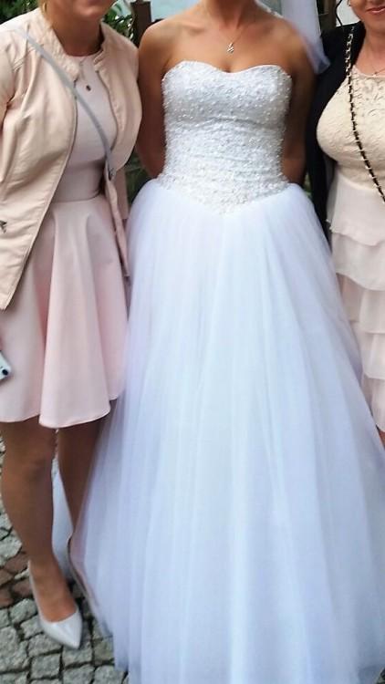 Przepiękna suknia ślubna PRINCESSA