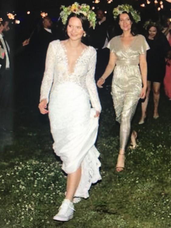 Suknie Suknia ślubna Projektu Agnieszki światły Model Chantal 2017