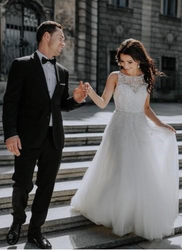 e3df2245f80 Suknie - Suknia ślubna Justin Alexander 9795 - 4 900,00zł