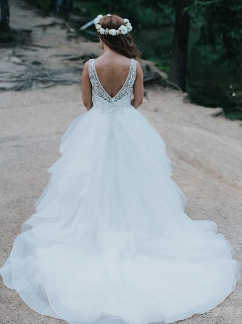 Suknia bez pleców - Justin Alexander SIGNATURE