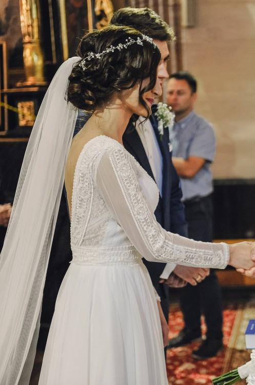 c4d55f35 Suknie - Suknia ślubna DIANA - GAJA - 1 300,00zł