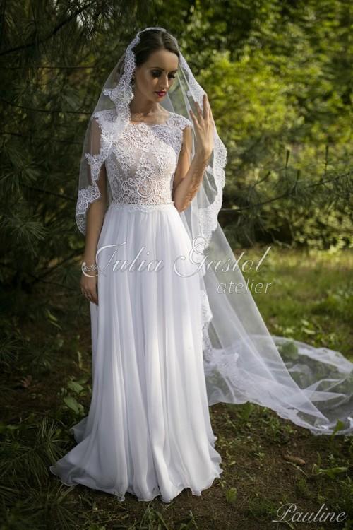 Suknie Suknia ślubna Pauline Julia Gastoł 2017 1 30000zł