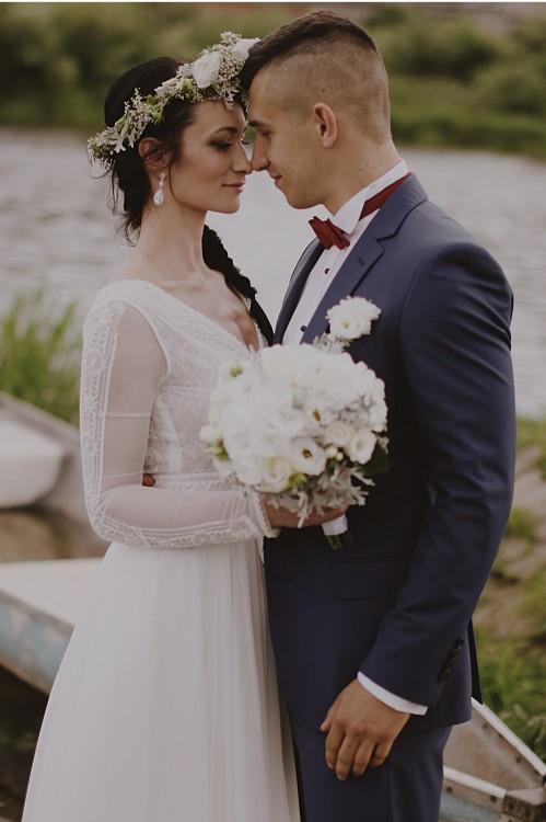 Suknie Piękna Zwiewna Suknia ślubna Gaja Welon Gratis 2 20000zł