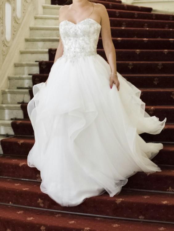 Suknie Suknia ślubna Falbany 3436 Loretta Vanessa 1713 2 100