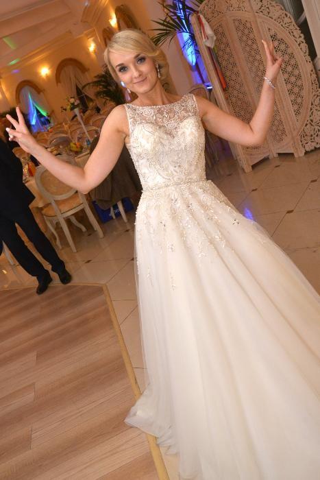 26d0a44d42a Suknie - Suknia ślubna Justin Alexander 9795 roz.34 - 3 500,00zł
