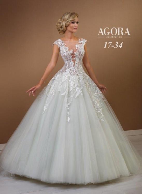 Suknie Suknia ślubna Agora 17 34 3 00000zł