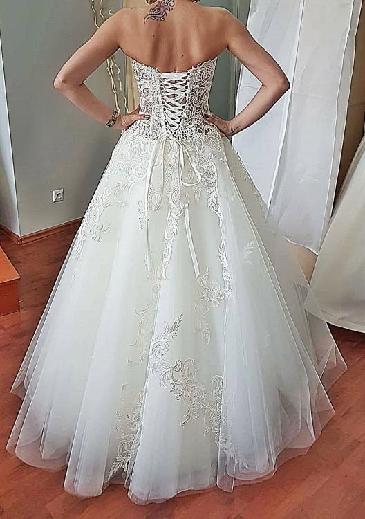 Suknie Suknia ślubna Agora Ecru 36 40175 1 80000zł