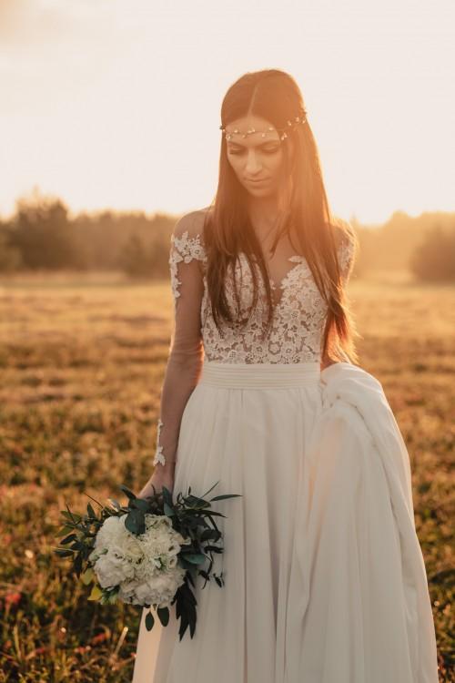 Suknia ślubna SELENA i MARSELA 2w1