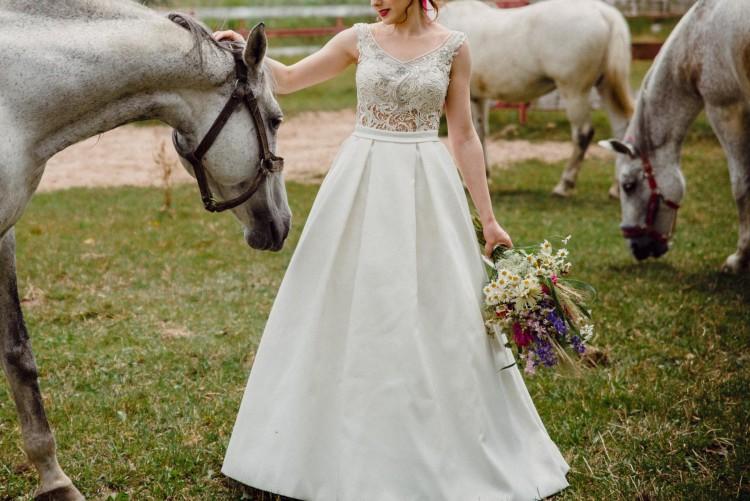 Nowość Suknie - Suknia ślubna Impresja 2017 rozm. 36 - 1 700,00zł WI99