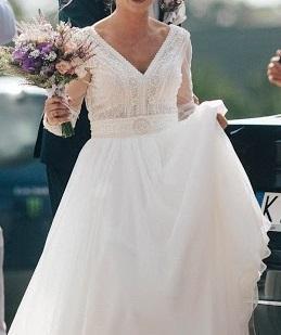 Suknie Suknia ślubna Diana Model Gaja 2 50000zł