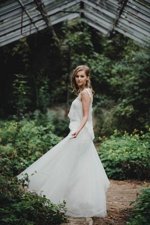 Suknie Suknia ślubna Dla Wysokiej Dziewczyny Boho Gramour Syrenka