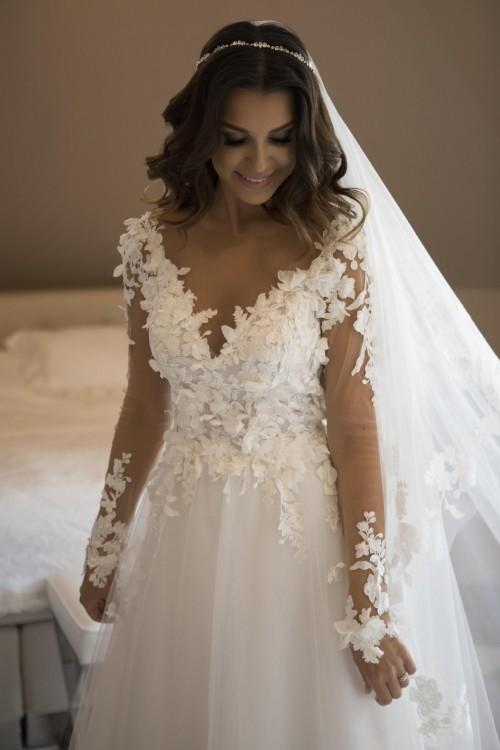 Sprzedam suknie ślubną projektu Violi Piekut