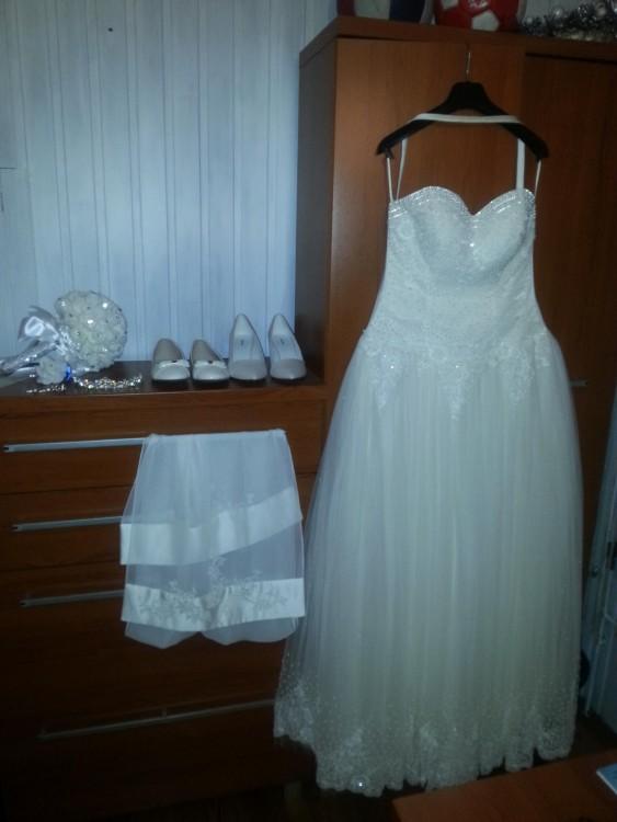 Suknie Suknia ślubna Princeska Księżniczka Gorset Perły 40 50000zł