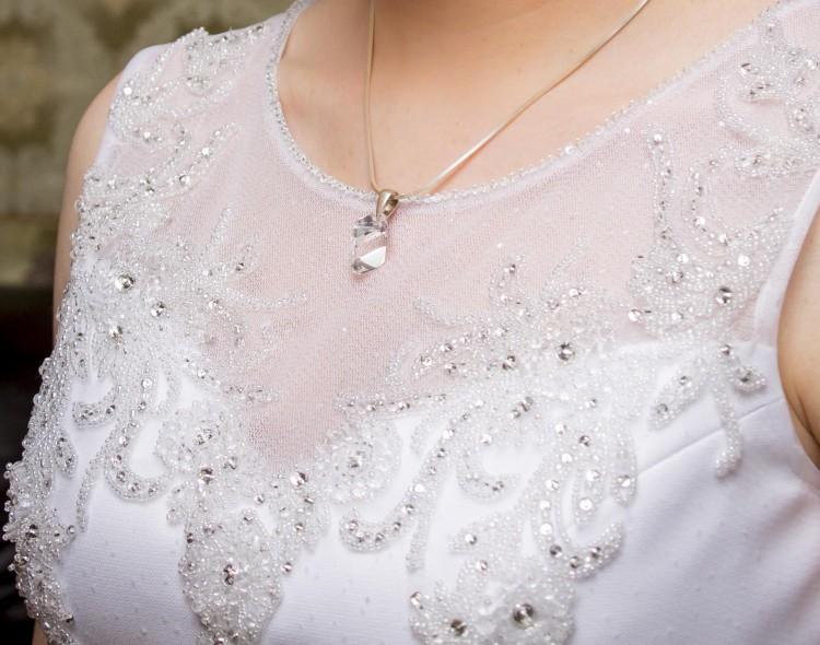 Bardzo dobra Suknie - Suknia ślubna z kryształkami Swarovskiego - 990,00zł AY53