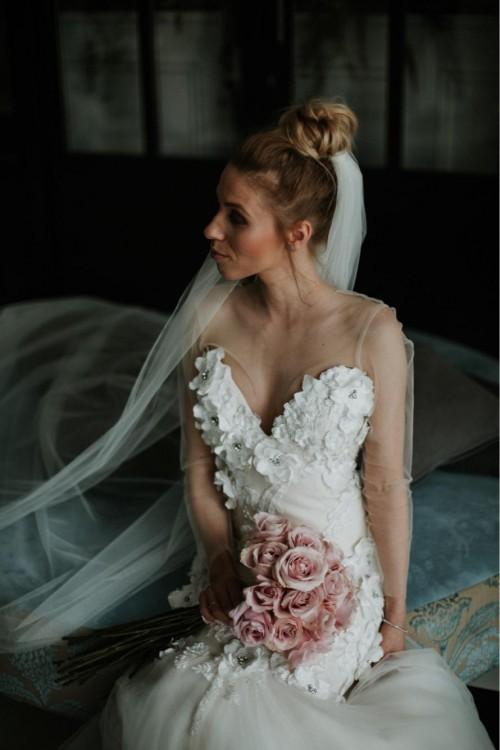 Suknia ślubna Fiore Laurelle 32/34