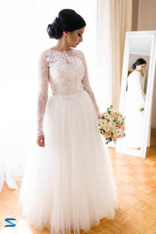 Suknia ślubna Vanilla Sposa Sposabella model 1480 Baroque