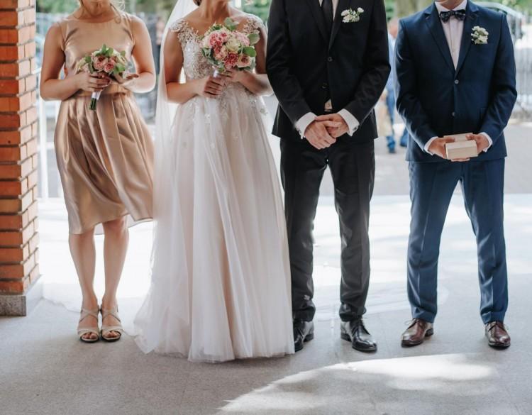 Suknia ślubna dla Pań w ciąży