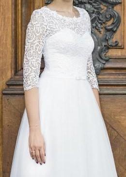 92b041b6 Suknie - suknia ślubna Fasson Perla - 2 500,00zł