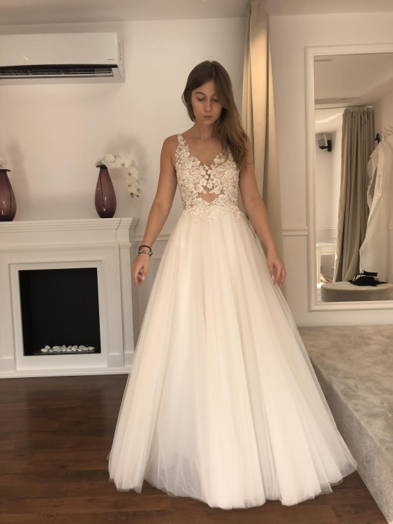 Suknie Suknia ślubna Tom Sebastien 2 00000zł