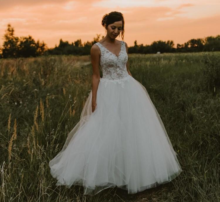 Suknie Suknia ślubna Koronka I Tiul 1 80000zł