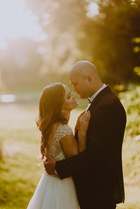 Suknia ślubna Mori Lee z kryształkami Swarovskiego