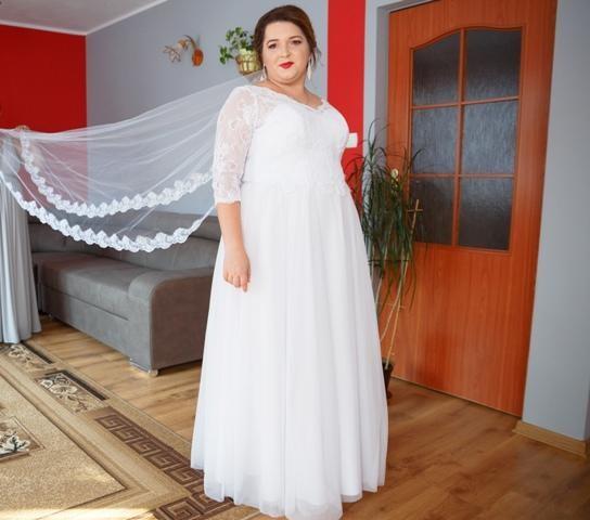 Suknie Suknia ślubna Plus Size 46 48 50 1 00000zł