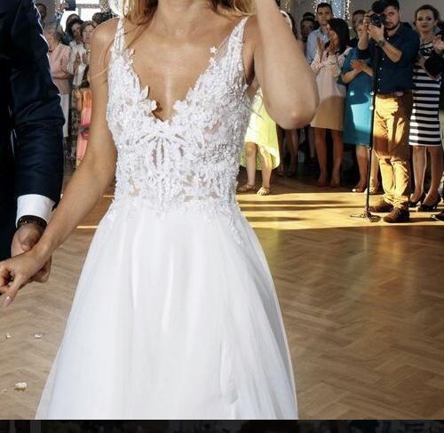 Suknie Sprzedam Suknię ślubną Tom Sebastien Estella Ii 34 2 50000zł