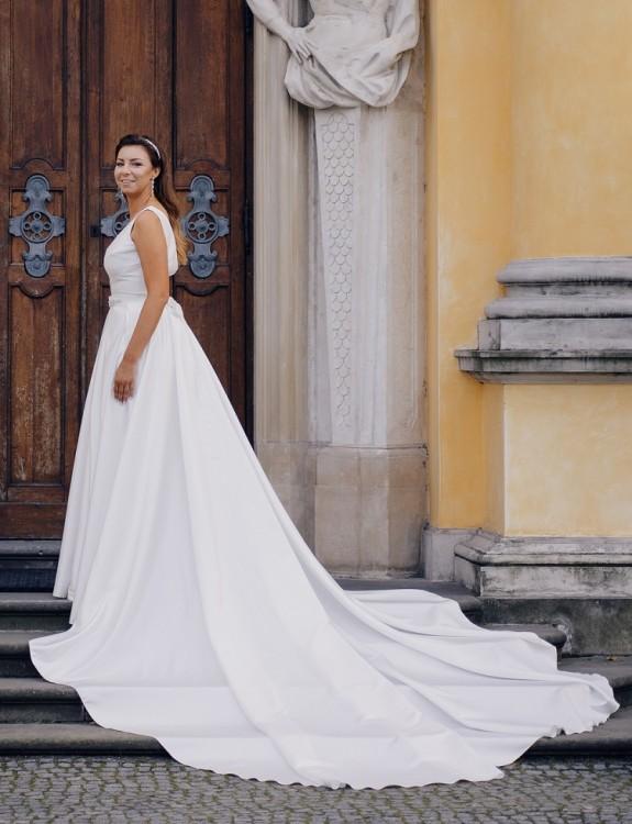 Suknia ślubna Model MIKADO projektu Violi Piekut