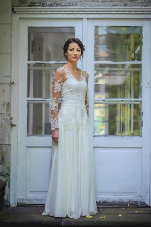 Suknie Suknia ślubna Ecru Rozm 36 Koronka Zwiewna 1 10000zł
