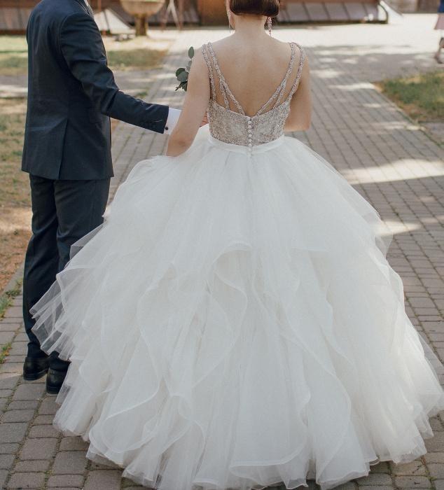 Suknia ślubna Mori Lee 2887 księżniczka - princessa