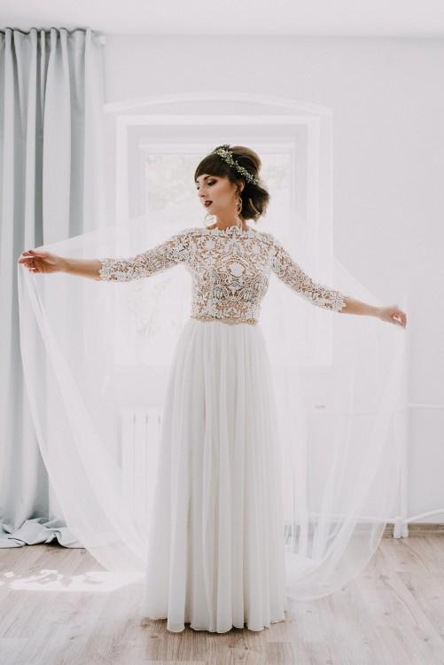 a7dd03c308 Suknie - Suknia ślubna projektu Patrycji Pardyki - 2 700