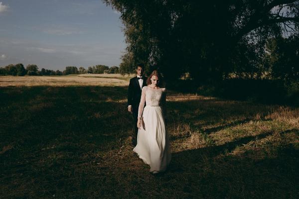 Suknia Ślubna z zalonu Sabe