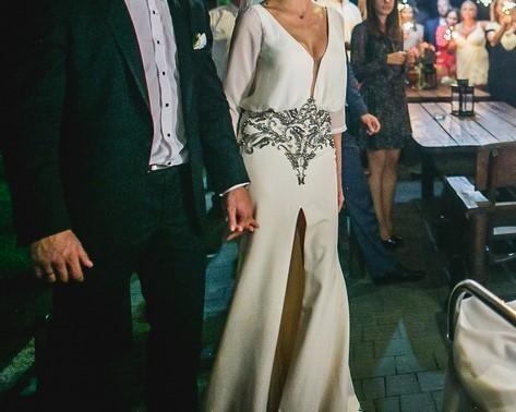 Niespotykana suknia ślubna Tarik Ediz