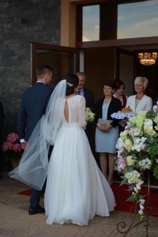 Niepowtarzalna suknia ślubna Gaja Muślinowa