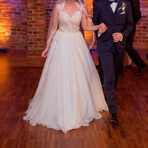 cf4c8cb8aa Suknie - Przepiękna suknia ślubna Gala Machiko + dodatki - 2 000