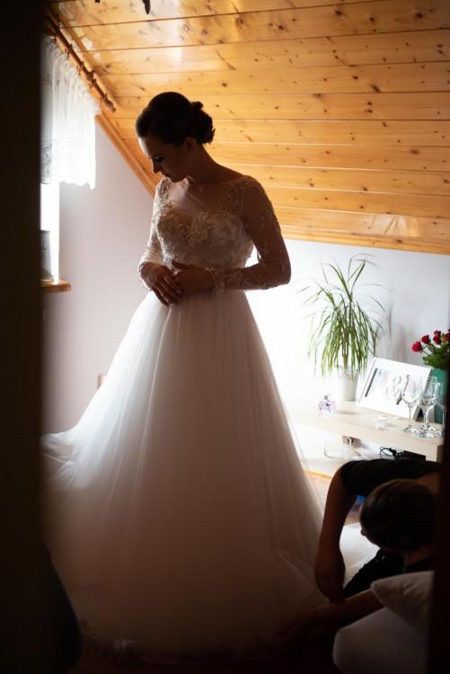 Sprzedam suknię ślubną Justin Alexander 8873