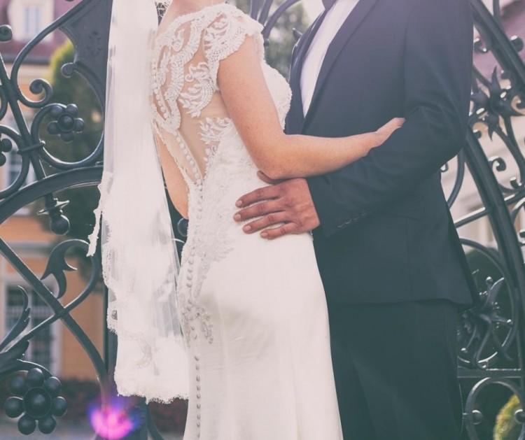 Suknia ślubna Justin Aleksander model 8864