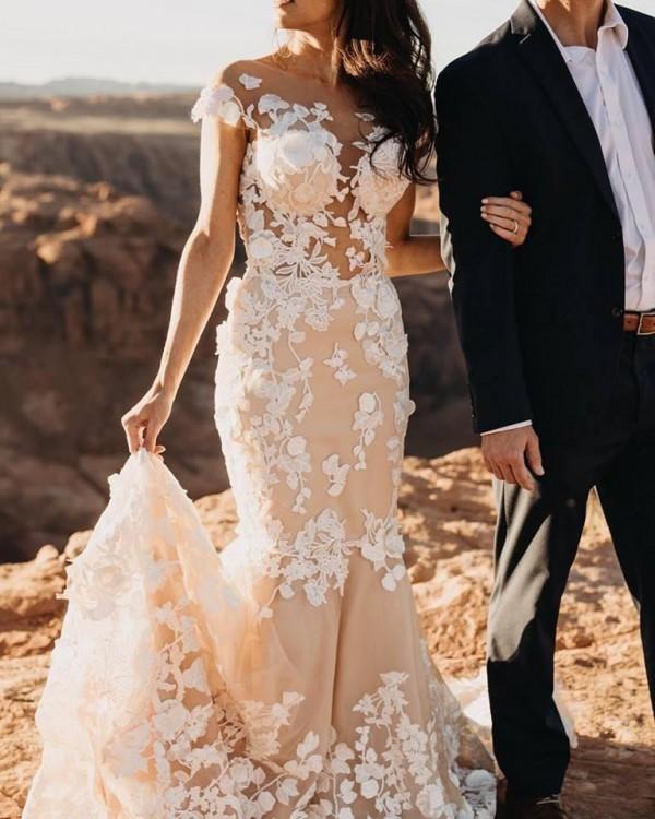 Suknia ślubna Betti Milla Nova rybka syrenka ivory